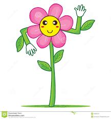 Smiley Flowers - smiley flower hello stock vector image 52663315