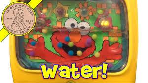 Elmo Bathroom Set Sesame Street Elmo Water Toy Bath Time Fun Light Up Musical Sounds