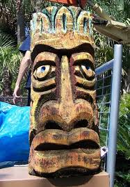 pin by winsell on tiki tiki statues