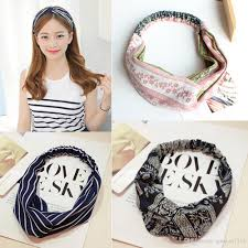 bohemian hair accessories 19 types linen headband bohemian hair garland band headwear