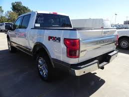 2018 ford f150 king ranch 5 miles white platinum crew cab pickup