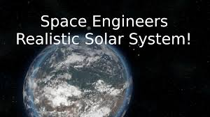 Solar System Map Space Engineers Realistic Solar System Youtube