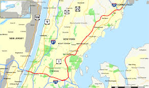 Map Of New York And Pennsylvania by Interstate 95 In New York Wikipedia