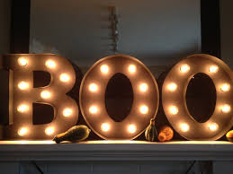 diy halloween marquee sign match made on hudson