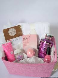 bridal shower gift basket ideas pink themed gift basket idea for a bridal shower