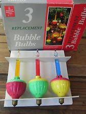vintage bubble light replacement bulbs replacement bubble lights ebay