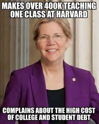 Elizabeth Meme - the hypocrisy of elizabeth warren perfectly illustrated