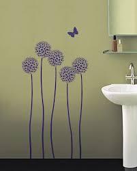 Bathroom Wall Art Ideas by Innovative Ideas Stencil Art For Walls Unusual Idea Pinwheel Wall