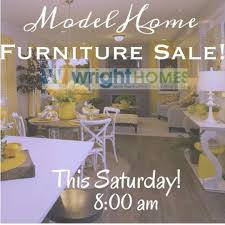 Model Home Decor For Sale Model Home Furniture Sale Wright Homes