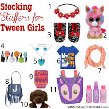 gifts for tween stuffers for tween