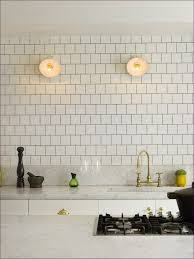 Subway Tile For Kitchen Backsplash Kitchen Room Gray Marble Subway Tile Kitchen Floor Tiles Black