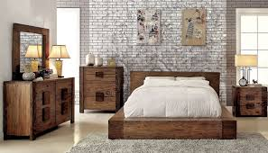 rustic contemporary bedroom furniture lighting the style of