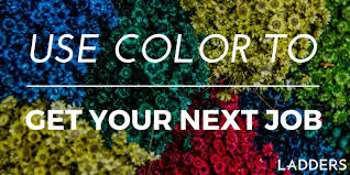 use color to get your next job ladders