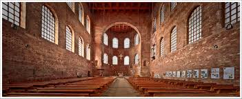 trier germany the constantine basilica built around 300 a d