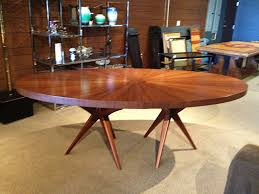 Mid Century Modern Round Dining Table How To Make A Mid Century - Modern round dining room table
