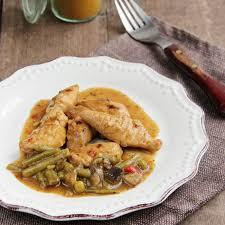 plat cuisiné plat cuisiné poulet au curry riche en proteines pour régime