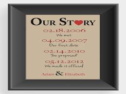 1st wedding anniversary ideas wedding anniversary gift ideas for archives 43north biz