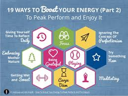 22 ways to boost and how to boost your energy