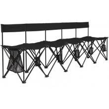 Quik Bench Kwik Goal 9b906 Kwik Bench Folding Soccer Bench 6 Seater