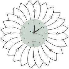 Decorative Metal Wall Clocks Metal Wall Clocks Foter
