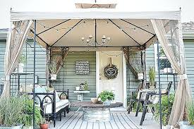 deck shade ideas pinterest diy outdoor canopy make your own