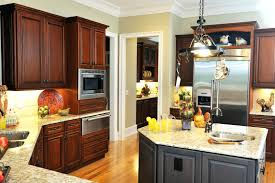 Kitchen Drawers Vs Cabinets Stained Kitchen Cabinet U2013 Sequimsewingcenter Com