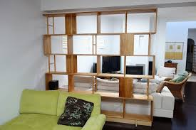 Custom Room Dividers by Bookcase Room Dividers Two Functions In One Furniture Home