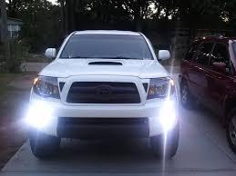 toyota tacoma hid fog lights fog light hids 6000k tacoma