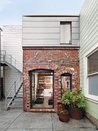 Brick Loft by Project Brick House San Francisco Architect Christi Azevedo