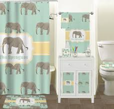 cute elephant shower curtain print u2013 matt and jentry home design