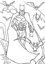 superhero halloween coloring pages batman coloring pages free