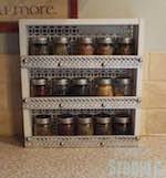 Spice Rack Countertop Free Spice Rack Plans Woodworking Plans And Information At