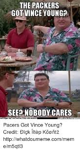 Ebook Meme - the packers got vince young see nobody cares brought by fac ebook