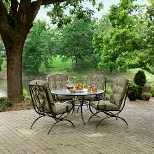 Kmart Patio Furniture Sets - jaclyn smith cora 4 piece printed dining chairs in green kmart