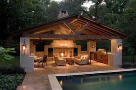 house plans with pools and outdoor kitchens pool house contemporary patio contemporary patio pool houses