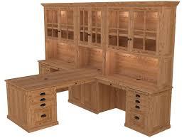 Partner Desk With Hutch Partner Desk Home Office Furniture Woodley Furniture Longmont Co