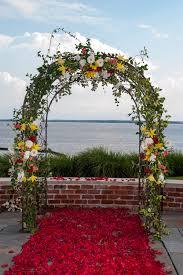 Wedding Arches Pics Mixed Flower Wedding Arch Petal Aisle Williamsburg Floral