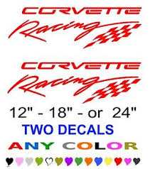corvette racing stickers corvette racing stickers decals any color any size chevy chevrolet