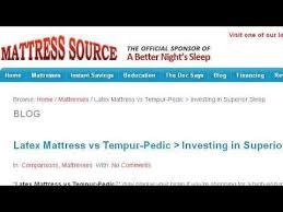 Sleep Number Bed Financing Tempur Pedic Vs Sleep Number Beds Youtube