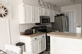 is behr paint for kitchen cabinets repainting the kitchen cabinets part 2 the big reveal