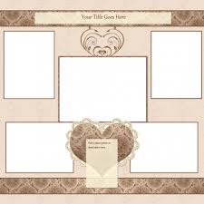 templates for scrapbooking free scrapbook templates lovetoknow