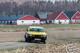 opel rally car south swedish rally car photo action rallyways