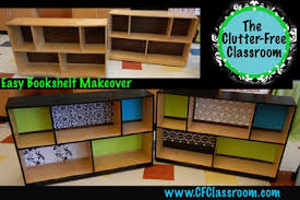 Free Bookshelves Easy Peasy Bookshelf Project My Classroom Makeover Clutter
