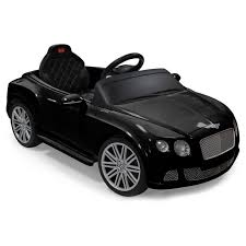 bentley black convertible rastar bentley gtc remote controlled 12v battery powered ride on