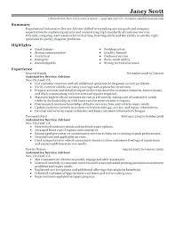 resume exles for customer service resume profile sles customer service advisor resume sle cv