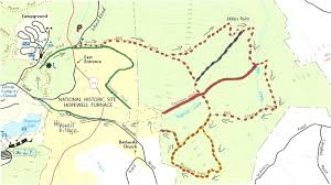 New York Appalachian Trail Map by Gone Hikin U0027 French Creek State Park Pa And Hopewell Furnace