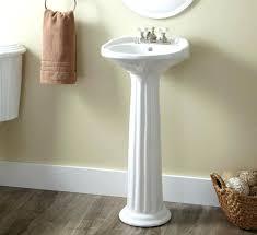 cost of pedestal sink kohler pedestal sink cost incredible homes to install a kohler