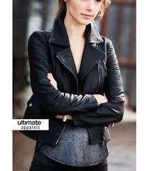 black leather biker jacket fast and furious gal gadot black designers biker jacket