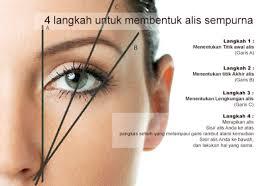 tutorial alis mata untuk wajah bulat cara membentuk alis mata sendiri hanya dengan pensil alis