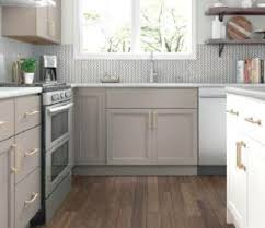 grey kitchen cabinets with white countertop kitchen cabinetry